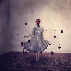 11/52 (yelahrenae) Tags: portrait girl conceptual person art fineart conceptualart fineartphotography conceptualphotography artist flowers floral glass head creepy surreal surrealphotography surrealportrait manipulation composite whimsical
