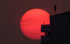 Martian sunset (BillAnd) Tags: sunset dusk iraq baghdad