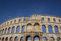 Amphitheater in Pula (patrik_zubaj) Tags: daylight sun arena pula istria croatia europe spring canon 600d 1855mm roman empire architecture coliseum flickrsbest