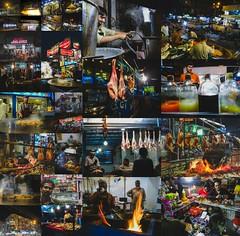 Burns Road — The food street.  'tis the nighttime saviour of a hungry man (uz360) Tags: burns road uzairqadriphotographyuz360arts hx200v collage tea sajji karachi night food street geo assignment web fire tikka barbq karahi mutton