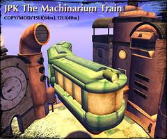 **JPK The Machinarium Train (hekirekika2017) Tags: secondlife train machinarium steampunk dieselpunk jpk