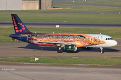 20170403_OO-SNF (sn_bigbirdy) Tags: ebbr bru zaventem brusselsairport frontpark3 airbus a320200 tomorrowland brusselsairlines oosnf