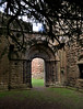 Lilleshall, Shropshire, abbey ruins, doorway