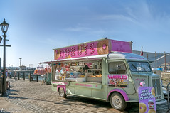 Donuts at the Albert Dock (Bob Edwards Photography - Picture Liverpool) Tags: liverpool city albertdock vendor van donut seller merseyside