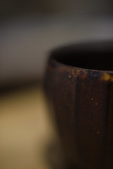 sense of warmth (Shokosseite) Tags: quietlife image pottery cup warmth nikon nikondf