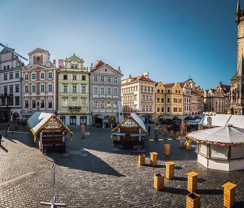 Утром пока не набежали китайцы, в Праге хорошо:)