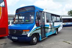 42545-05 (Ian R. Simpson) Tags: p545pne mercedes o814 plaxton beaver2 stagecoachincumbria stagecoachinmanchester stagecoachmanchester theospreybus bus minibus