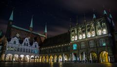 The Main Hall (kornflakezzz) Tags: city stadt rathaus mainhall main hall nightshot nacht stars sterne lübeck luebeck hansestadt germany deutschland sony alpha a57 sigma