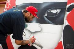 18057824_960695257401233_6973913563354747370_n (1) (BENET - BNT) Tags: bh tattoo festival benet bnt kren graffiti rosto indígena pindorama brasil live paint guerreiro ancestral