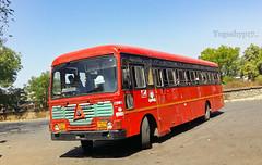 Nizamabad - Aurangabad (yogeshyp) Tags: msrtc maharashtrastatetransport msrtcparivartanbus nizamabadaurangabadstbus