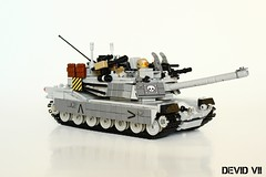M1 Abrams (Devid VII) Tags: tank m1 abrams devid vii devidvii moc lego military war