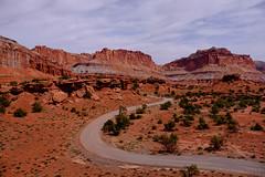 Capitol Reef- (tristanrayner.com) Tags: arizona capitolreef utah desert scenic drive national park panorama point lunch red rocks millenia erosion