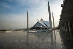 (яızωαи) Tags: shah faisal mosque islamabad pakistan modern islamic architecture sunset blue hour
