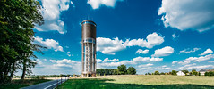 20150821 - Aquatower Berdorf-6 (OliGlo1979) Tags: berdorf d810 luxembourg monument nikkor1424 nikon watertower aquatower ultrawide dramatic