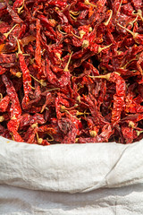 Hot Stuff! (@jo_did_this) Tags: jaipur india spice chillies chilli hot market sack dried red spicy