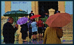 Sotto la pioggia nel giorno di Pasqua - Aprile-2017 (agostinodascoli) Tags: art digitalart digitalpainting photoshop photopainting creative impressionismo colore fullcolor cianciana sicilia nikon nikkor