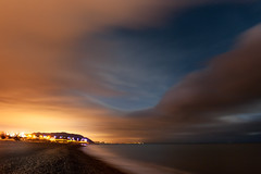 (shaymurphy) Tags: smp9091 greystones bray wicklow night photo photography long exposure ireland irish sea sky clouds light pollution