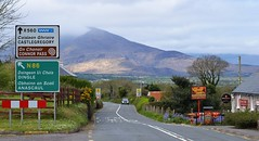 Decisions, decisions... (Michael C. Hall) Tags: ireland kerry camp signpost mountain scenic dingle peninsula road pub dry