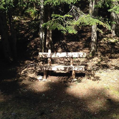 Banc public #bench #montenegro #ombreetlumiere #printemps