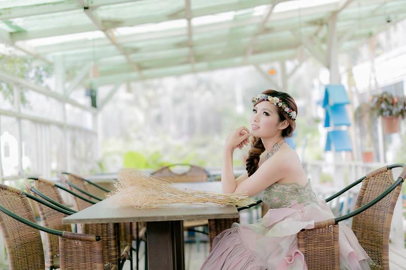 嘉義新秘,婚紗寫真, 新秘,56號藍色公路咖啡,韓式編髮