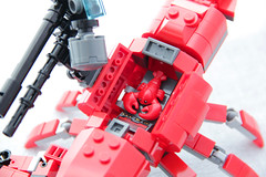 The Revenge of the Lobster (dvdliu) Tags: lego moc lobster mech mecha batman movies
