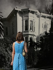 Time Warp (swong95765) Tags: old house time woman female lady seeing look observation wonder
