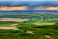 Stormy day at the palouse (©Helminadia Ranford) Tags: storm stormy weather palouse america landscape travel nature