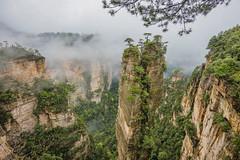 Zhangjiajie National Park (merbert2012) Tags: zhangjiajie china nature nationalpark mountains avatar movies landscape planetearth fun nikond800 fog travel holiday rocks