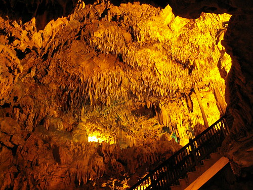 Alanya, in a cave