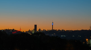 Johannesburg From Bedfordview