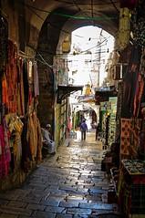 Bazaar Man (Rice Bear) Tags: israel jerusalem ancient city cobblestone vendor wares seller travel travelgram adventures nikon d90 nikond90