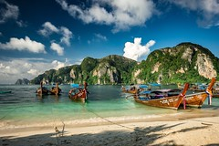 I bet you gonna love this place🔝🔝🔝 Phi Phi Phiphiisland Thailand Nautical Vessel Transportation Sea Mode Of Transport Sky Moored Water Longtail Boat Beach Nature Scenics Mountain Beauty In Nature Shore Boat Cloud - Sky Day Sa (Nick Pandev) Tags: phiphi phiphiisland thailand nauticalvessel transportation sea modeoftransport sky moored water longtailboat beach nature scenics mountain beautyinnature shore boat cloudsky day sand outdoors outrigger nopeople copyspace