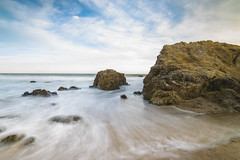 A View from Malibu 2 (MarcCooper_1950) Tags: water ocean sand rocls beach sunset coastal malibu leocarrillostatebeach southerncalifornia nikon d810 longexposure ndfilter waves foam surf pastels