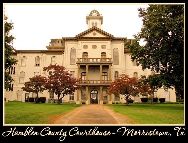 Hamblen County Courthouse - Morristown, TN