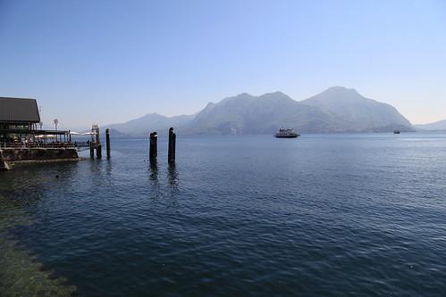 Laveno-Intra car ferry, Lago Maggiore