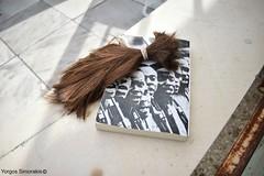 (George Siniorakis) Tags: sureal book cut hair