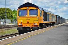 66767 (stavioni) Tags: 66767 class66 shed diesel railway rail train freight railfreight europorte