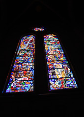 Stained Glass Windows at Grace Cathedral (JB by the Sea) Tags: sanfrancisco california april2017 urban nobhill gracecathedral church gothic frenchgothic stainedglass