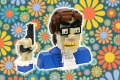 Allow myself to introduce... myself (Ochre Jelly) Tags: lego moc afol austin powers austinpowers movie character spy bond villain