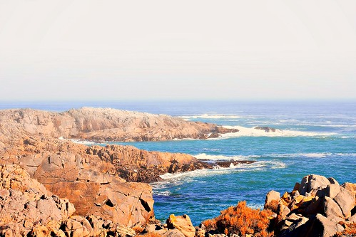 Yzerfontein rugged coastline