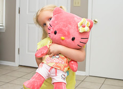 Hello Kitty (Mommy with a Nikon) Tags: pink baby girl toddler sweet hellokitty