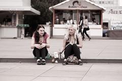 Beck's (kohlmann.sascha) Tags: street people blackandwhite bw food woman berlin beer monochrome de deutschland place drink streetphotography streetportrait menschen alexanderplatz bier monochrom frau schwarzweiss groceries mitte ort mensch getränk candidportrait berlinmitte lebensmittel schwarzweis schwarzwei§ streetfotografie strasenfotografie stra§enfotografie getršnk