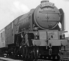 Huntingdon A1 60119 up Yorkshire Pullman c1949 JVol7284 (DavidWF2009) Tags: a1 huntingdon 60119