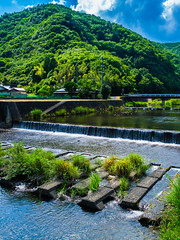 PhoTones Works #2940 (PhoTones_TAKUMA) Tags: mountain mountains nature japan river landscapes countryside scenic rivers  riverbank   idyllic  omd     em5     photones