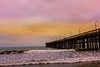 cloudy! (© In 2 Making Images | °L.A.) Tags: motion shore losangelescaliforniausa venturacountypierbeach pinkcolorswaterlights
