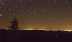 Star Trails (Sam Lopez Photography) Tags: longexposure light star long exposure horizon trails citylights stacked startrails lightpollution