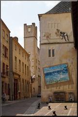 Metz Murales (mhobl) Tags: france frankreich murales wallpainting metz hingebröselt