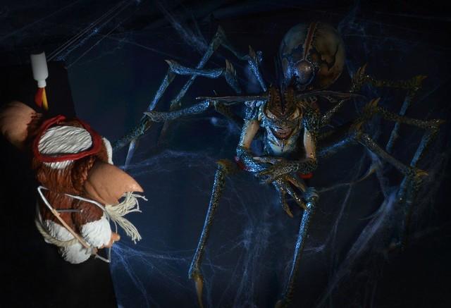 買回家糟蹋自己的心靈!邪惡蜘蛛小精靈金架五告胎溝!~