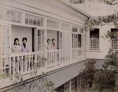 Prostitutes at Nectarine no.9 Brothel (Yokohama) (noel43) Tags: japan japanese women prostitution yokohama prostitutes nectarine pleasure meiji quaters no9 jinpuro shinpuro