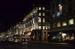 Regents Street (explored) (pjpink) Tags: street city uk urban london night spring april 2013 pjpink